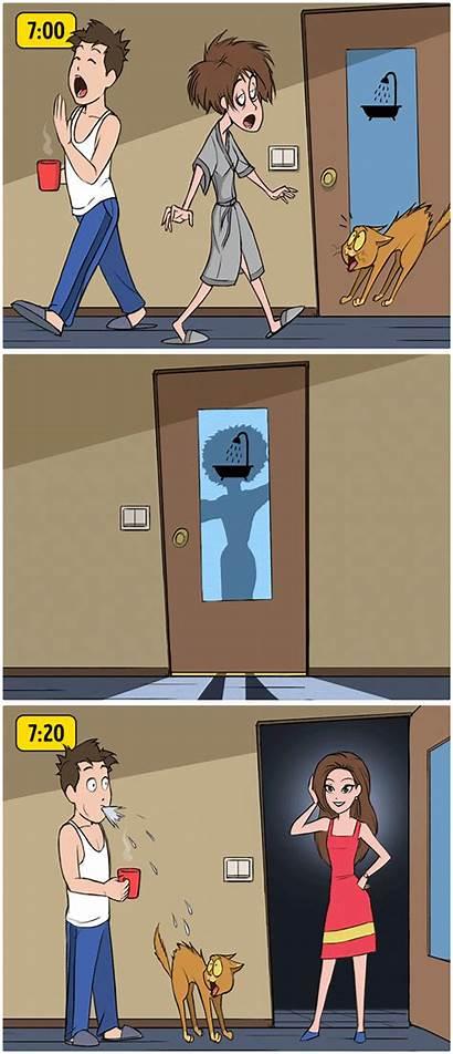 Comic Magic Strips Funny Comics Humor Adult