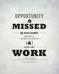The Opportunity... Vocational Service Quotes