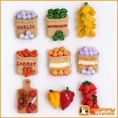 custom fridge magnet 3d food shaped for wholesale buy