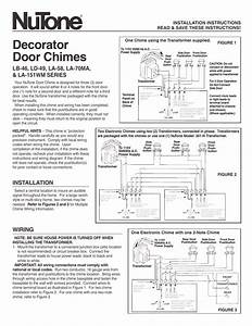 Nutone Door Chimes Wiring Diagram Tracking Wires   48