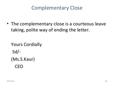 cordially end of letter cordially end of letter cordially end of letter cordially 20971 | business letters ksv 24 638