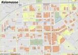 Kalamazoo Map | Michigan, U.S. | Maps of Kalamazoo
