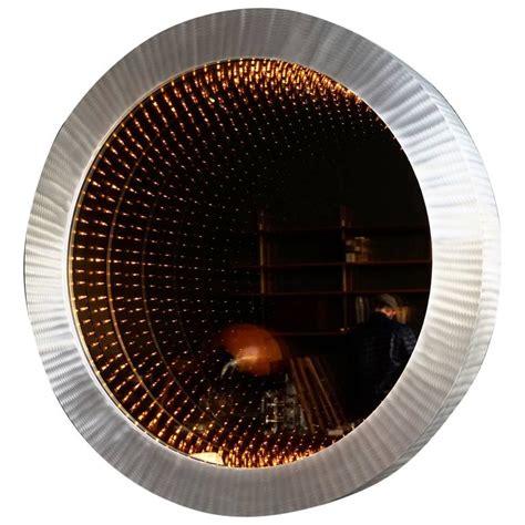 porthole infinity mirror at 1stdibs