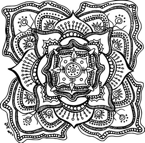 Coloring Pages Pretty Free Coloring Pages To Print For Adults  101 Coloring Pages