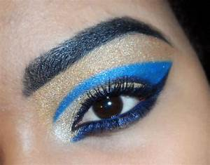 1000+ images about Egyptian eye makeup on Pinterest | Blue ...