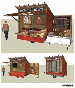 Produce Stand Designs Plans DIY Free Download teds