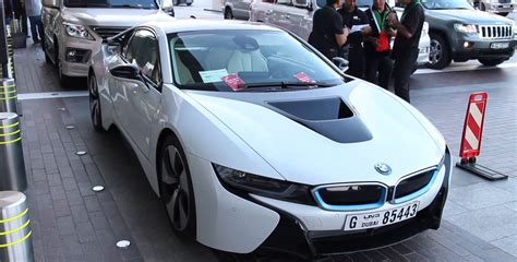 Rent A Bmw I8 At Mall In Dubai Video