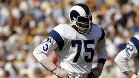hall  fame de deacon jones  famed fearsome foursome