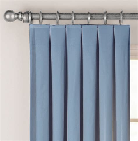 Tetes De Rideaux by Fabricville Box Pleat Curtain Plis Plats De L
