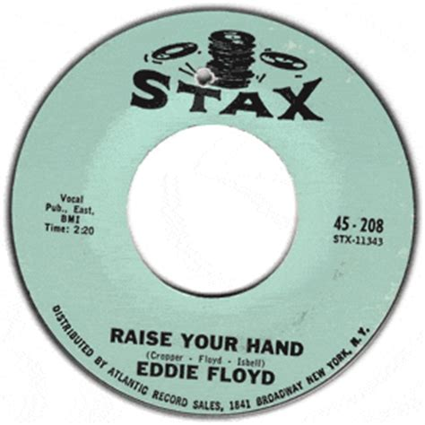 Eddie Floyd Don T Rock The Boat by Classic 45 Eddie Floyd Raise Your I Ve Just Been