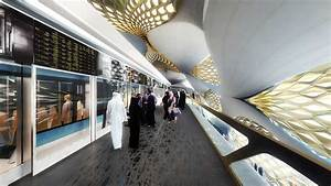 King Abdullah Financial District Metro Station - Zaha Hadid Architects