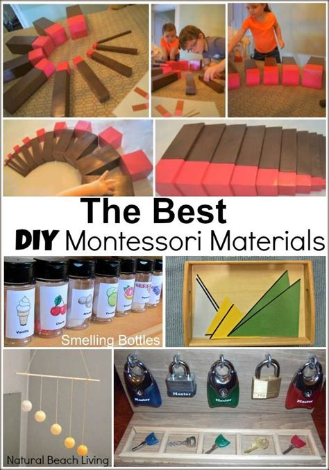 The Best Diy Montessori Materials  Montessori Materials