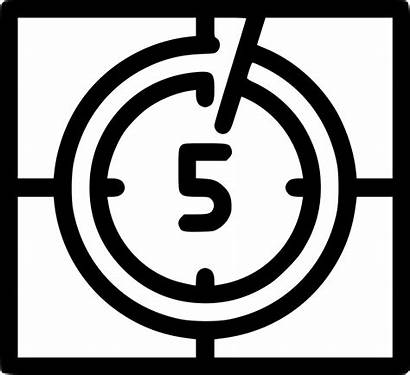 Countdown Svg Icon Onlinewebfonts