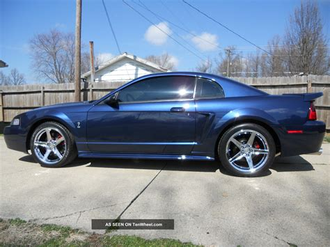 ford mustang svt cobra coupe true blue