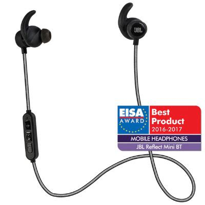 in ear bluetooth test jbl reflect mini bluetooth in ear hovedtelefoner sort hovedtelefoner elgiganten