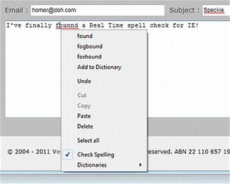 Add A Spelling Checker To Internet Explorer Pcworld