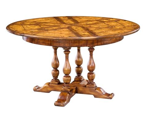high round dining table high end dining room furniture solid walnut round dining