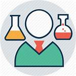 Lab Icon Technician Assistant Expert Clipart Incharge