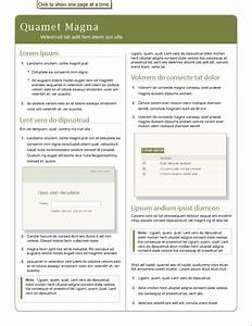 Quick Reference Guide Templates