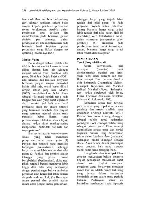 TEORI PERUSAHAAN / THEORY OF THE FIRM : KAJIAN TENTANG