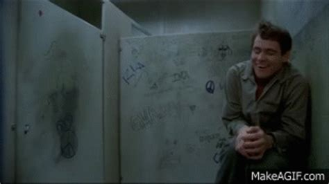dumb and dumber bathroom stall gif pics for gt dumb and dumber toilet gif