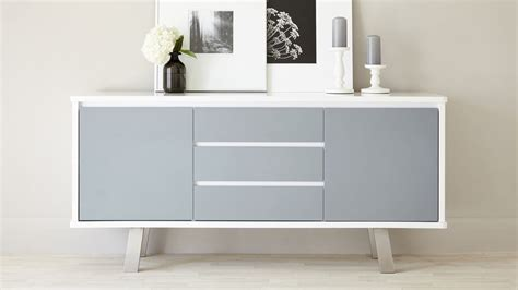 White Sideboard Modern by Assi White Gloss Sideboard Modern White And Grey Sideboard