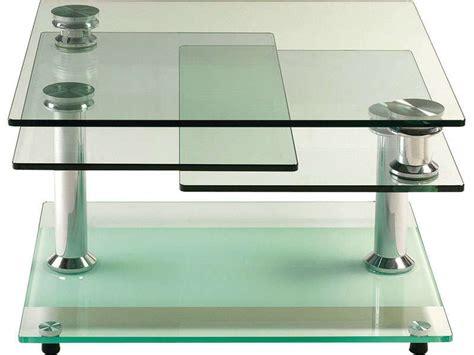 table basse verre tremp 195 169 conforama