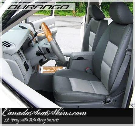 dodge durango custom leather upholstery