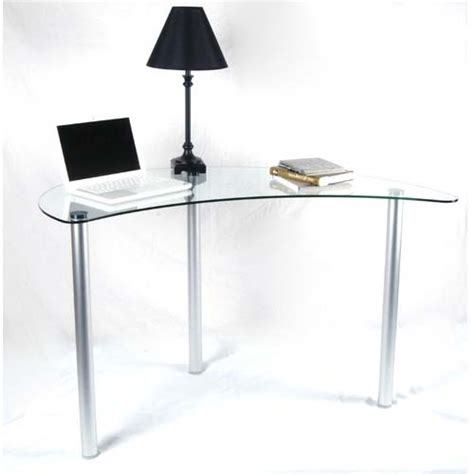 glass corner computer desk rta tier one designs clear glass corner computer desk