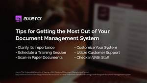 document management system benefits features tips With implementing a document management system