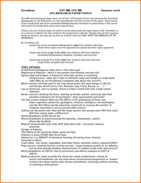 43 Essay In Apa Format Exle College Essays College Application Essays