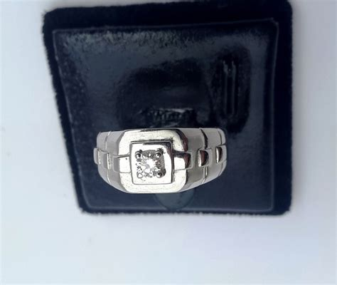 Jam Rolex Ring Mata 012 jual cincin berlian pria eropa model rolex mata satu emas