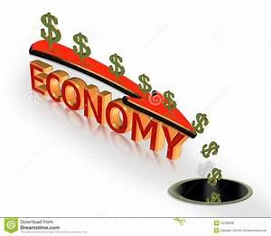 Recession Economy 3D Graphic Stock Illustration ...