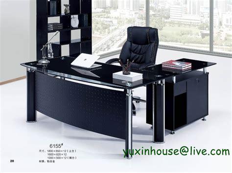 table de bureau en verre verre trempé bureau bureau patron table de bureau