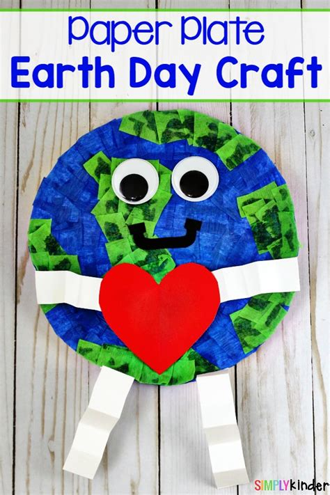 How To Make A Paper Plate Earth Day Craft  Simply Kinder