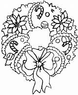Christmas Coloring Pages Hard Colouring Sheets Printable Adult Wreath sketch template