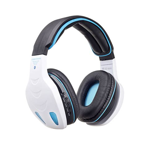 wireless bluetooth stereo headphone headset bass with mic