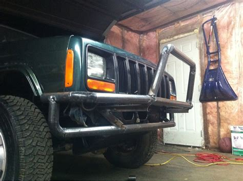 homemade jeep bumper plans homemade tubular bumper build jeep cherokee forum