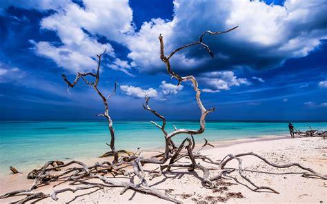 wallpaper pemandangan laut alam pantai pasir langit
