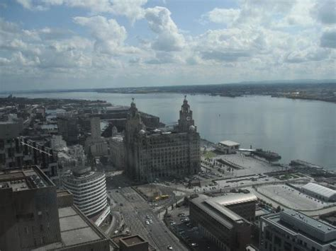 View From The Panoramic Restuarant In Liverpool