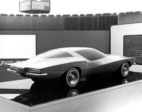 Buick Stock by Buick Riviera Styling Prototype April 1968