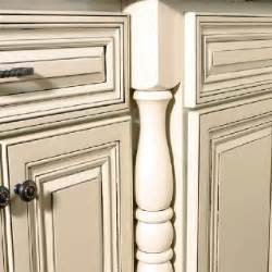 How To Paint Cabinets To Look Distressed by Cream Cabinets With Grey Glaze Cabinets Pinterest