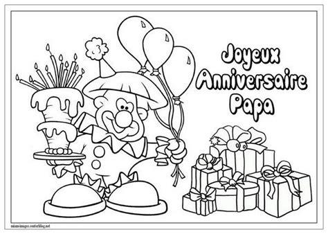 Coloriage Joyeux Anniversaire Papa