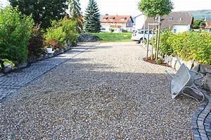 Einfahrt Mit Kies : kiestabilisierung eines neu angelegten hof und einfahrt ~ Lizthompson.info Haus und Dekorationen