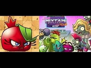 Plants Vs Zombies 2 Bombegranate in Neon Mixtape Tour