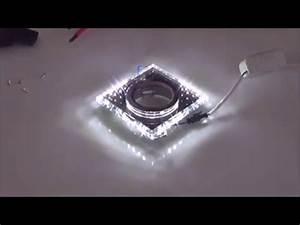 Halogen Deckenfluter Led Umrüsten : tutorial jak pod czy opraw halogen oczko led candellux bialy pasek led youtube ~ Watch28wear.com Haus und Dekorationen