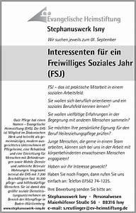 Wie Schreibt Man Engagement : freiwilliges soziales jahr ~ Yasmunasinghe.com Haus und Dekorationen