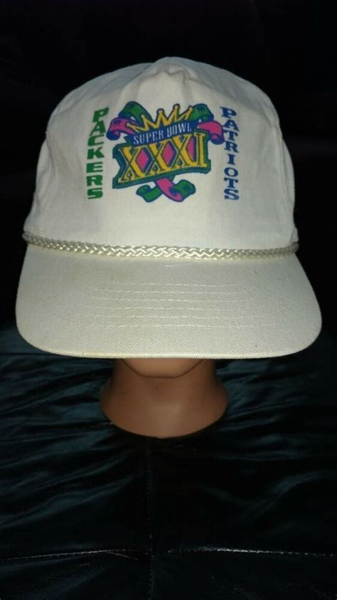 Packers Vs Patriots Snapback Ball Cap Superbowl Xxxi Kc