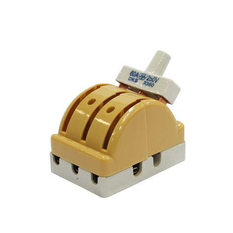 interruptor doble tiro de 3 polos 60 erios interruptores industriales