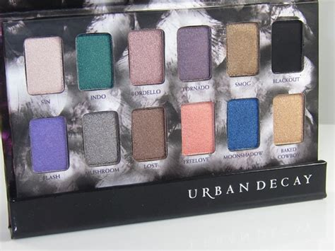 urban decay shadow box review swatches musings   muse